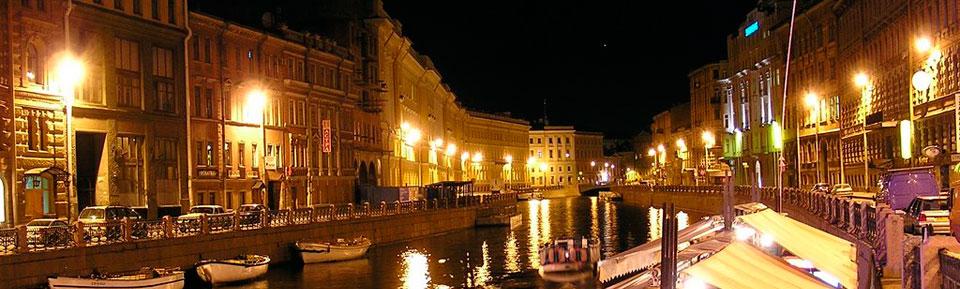 Уличное освещение в Петербурге