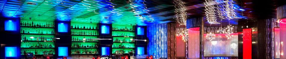 Встраиваемый свет в ресторанах